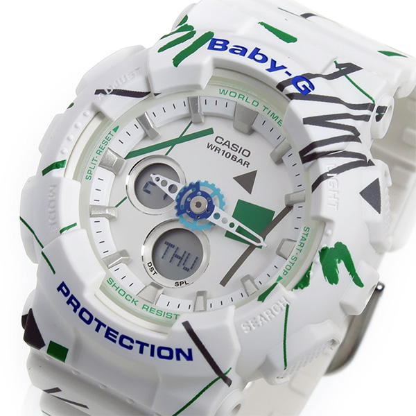 カシオ ベビーG BABY-G クオーツ レディース 腕時計 時計 BA-120SC-7A ホワイト