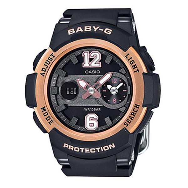 カシオ ベビーG BABY-G クオーツ レディース 腕時計 時計 BGA-210-1B ブラック