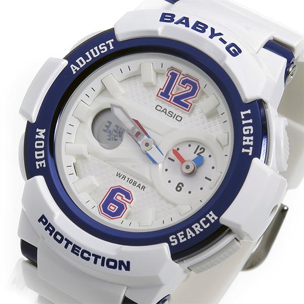 カシオ ベビーG BABY-G クオーツ レディース 腕時計 時計 BGA-210-7B2 ホワイト