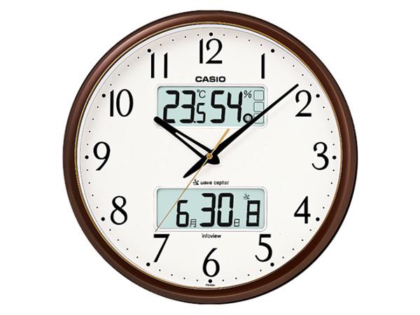 カシオ CASIO インテリアクロック 電波 壁掛け時計 ITM-650J-5JF 国内正規