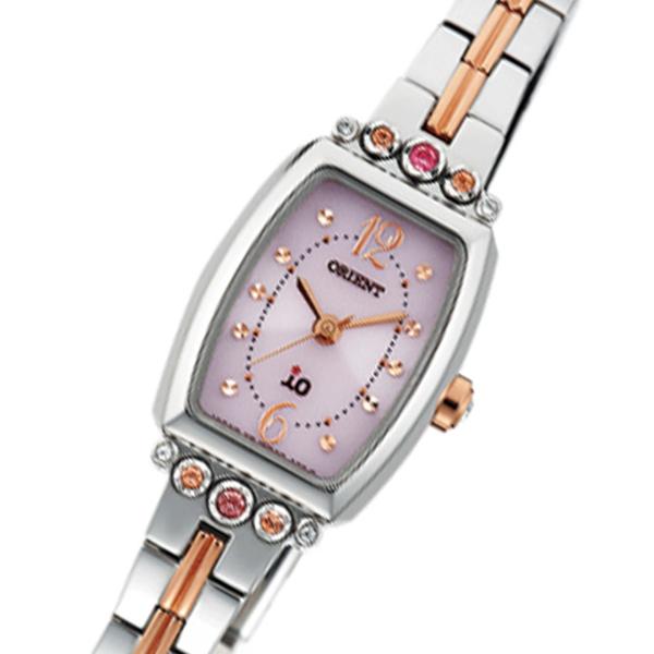 オリエント イオ ソーラー クオーツ レディース 腕時計 時計 WI0401WD シルバー 国内正規