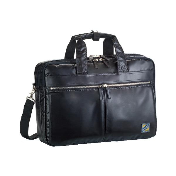 モビーズ シリコンコート ビジネスバッグ ブリーフケース メンズ 26554 ブラック