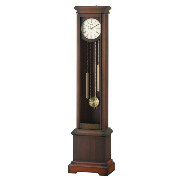 リズム RHYTHM 電波置き時計 ホールクロック HiARM-420R 4RN420RH06 ブラウン【送料無料】【inte_D1806】