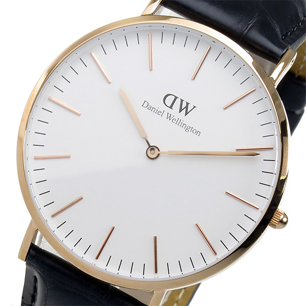 ダニエル ウェリントン クラシック リーディング/ローズ 40mm 腕時計 時計 0114DW