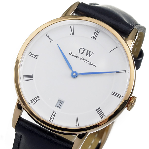 ダニエル ウェリントン ダッパー シェフィールド/ローズ 34mm 腕時計 時計 1131DW
