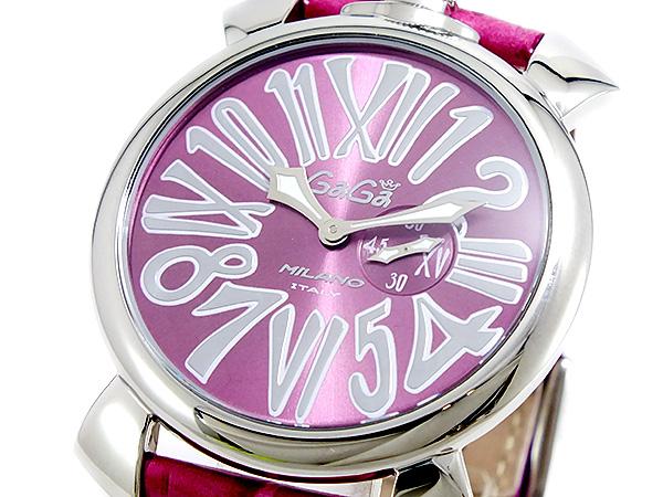 ガガミラノ GAGA MILANO SLIM クオーツ ユニセックス 腕時計 5084-6【送料無料】