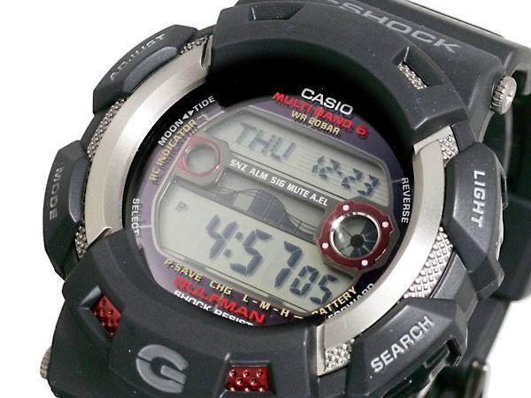 カシオ CASIO Gショック G-SHOCK ガルフマン 腕時計 時計 GW-9110-1JF 国内正規