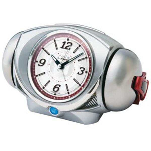 セイコー SEIKO ウルトラライデン クオーツ 目覚まし時計 CQ141S ホワイト