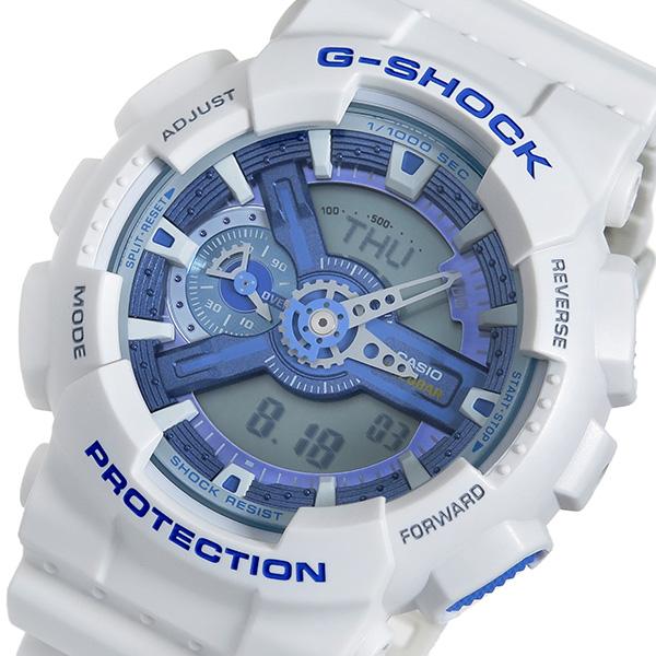 カシオ CASIO Gショック アナデジ クオーツ メンズ 腕時計 時計 GA-110WB-7A ブルー