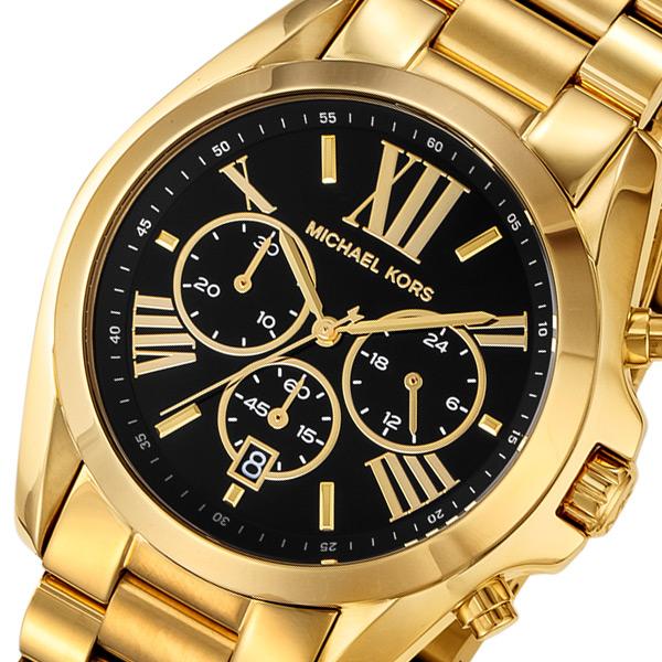 マイケルコース MICHAEL KORS クロノ クオーツ レディース 腕時計 時計 MK5739 ブラック