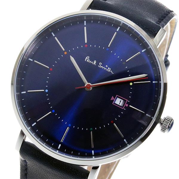 factory price 03c2b adeff ポールスミス PAULSMITH トラック Track クオーツ メンズ 腕時計 時計 P10080 ブルー【ポイント10倍】|リコメン堂
