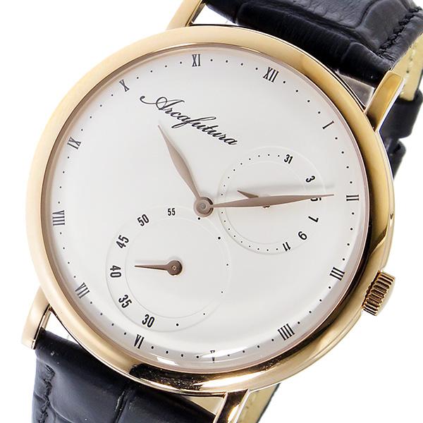 ランキング第1位 アルカフトゥーラ ARCA FUTURA クオーツ ユニセックス 腕時計 時計 1074IP-WHBK ホワイト, ドラゴン商会 3deb3c0c