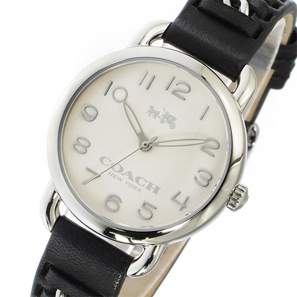 コーチ COACH デランシー DELANCEY クオーツ レディース 腕時計 時計 14502257 ホワイト