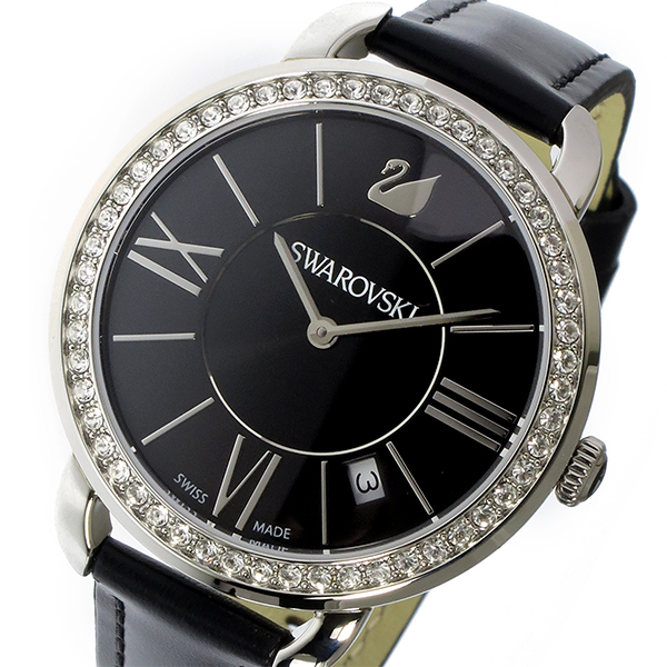 スワロフスキー SWAROVSKI アイラ・デイ クオーツ レディース 腕時計 時計 5172151 ブラック