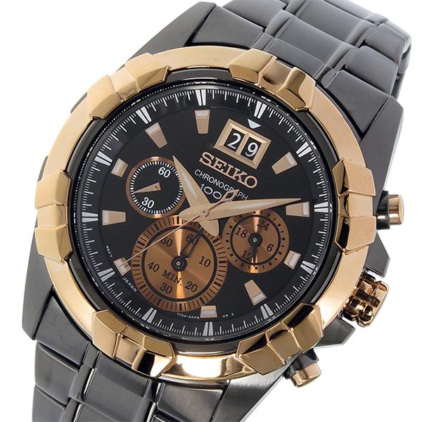 セイコー SEIKO ロード LORD クロノ クオーツ メンズ 腕時計 時計 SPC192P1 ブラック