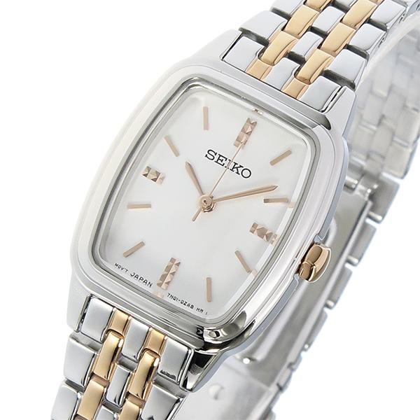 セイコー SEIKO クオーツ レディース 腕時計 時計 SRZ471P1 シルバー