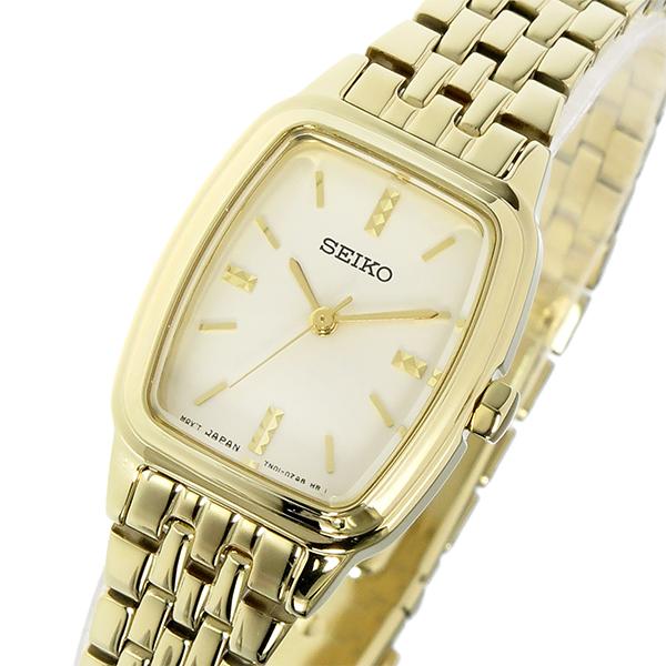 セイコー SEIKO クオーツ レディース 腕時計 時計 SRZ474P1 ゴールド