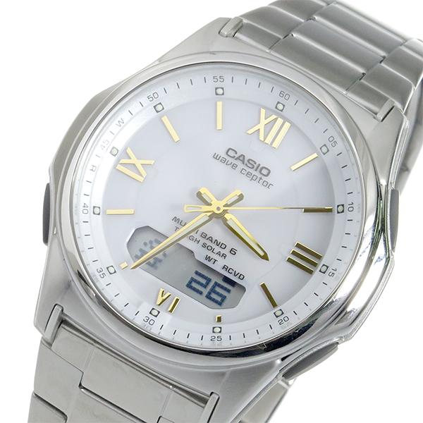 カシオ CASIO WAVE CEPTOR 電波 ソーラー メンズ 腕時計 時計 WVA-M630D-7A2JF 国内正規