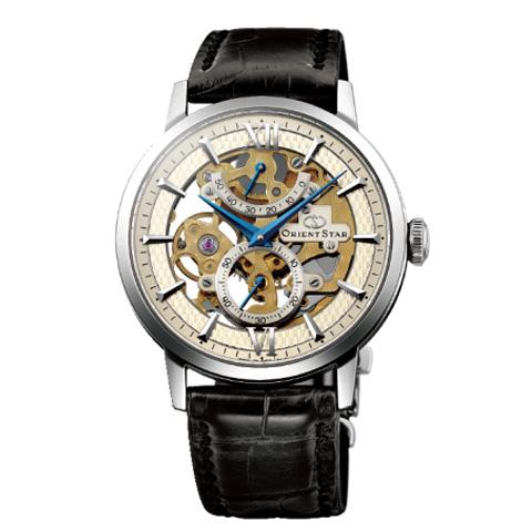 オリエント オリエントスター スケルトン 手巻き メンズ 腕時計 WZ0041DX アンティークシルバー 国内正規【送料無料】