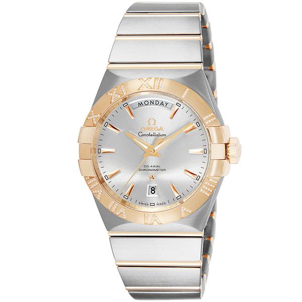オメガ OMEGA コンステレーション 自動巻き メンズ 腕時計 123.25.38.22.02.001 シルバー【送料無料】【ポイント10倍】