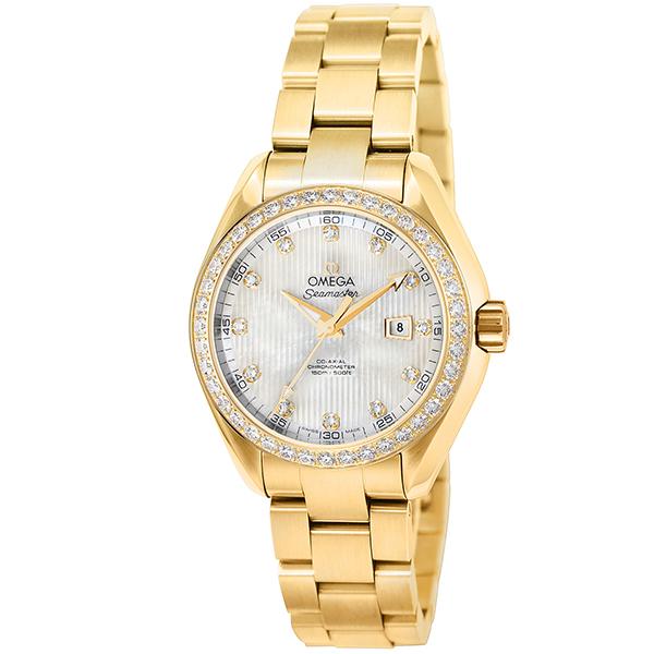 オメガ OMEGA シーマスター 自動巻き メンズ 腕時計 231.55.34.20.55.001 ホワイトパール【】【ポイント10倍】【楽ギフ_包装】【inte_D1806】