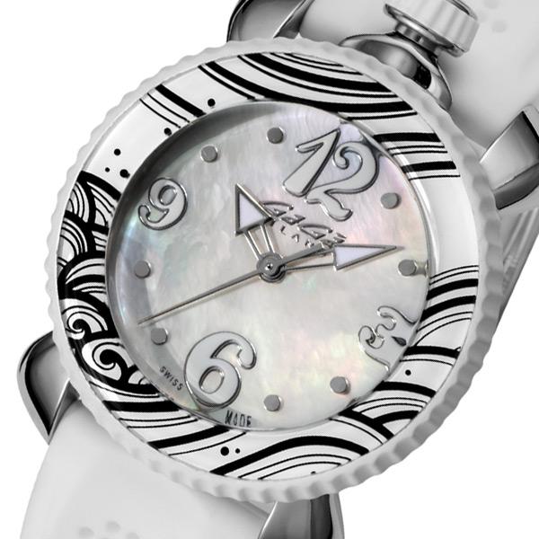 ガガ ミラノ レディ スポーツ レディース 腕時計 702001 ホワイトパール/ホワイト【送料無料】