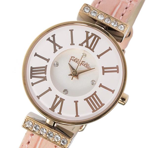 フォリフォリ FOLLI FOLLIE ミニダイナスティ クオーツ レディース 腕時計 時計 WF13B014SSW-OR ホワイト
