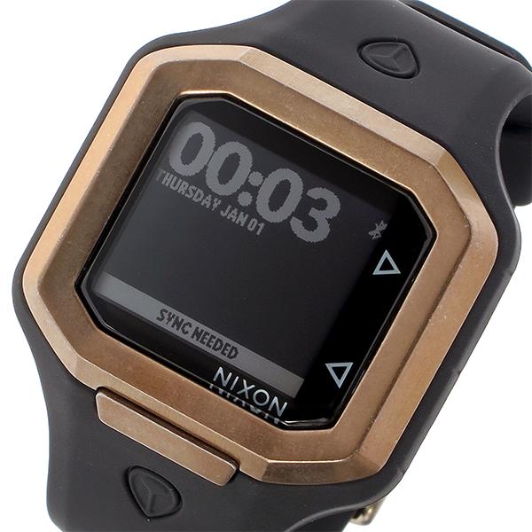 ニクソン NIXON ウルトラタイド Ultratide クオーツ ユニセックス 腕時計 時計 A476-872 ブラック/ピンクゴールド【ポイント10倍】