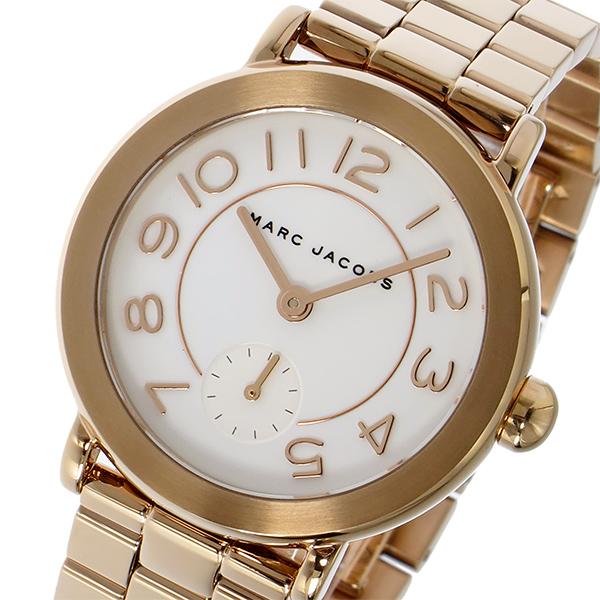 マーク ジェイコブス MARC JACOBS ライリー RILEY クオーツ レディース 腕時計 時計 MJ3471 ホワイト