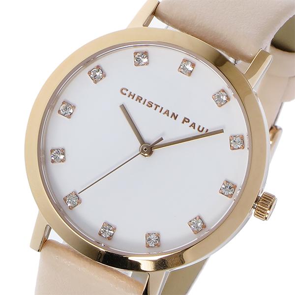 クリスチャンポール CHRISTIAN PAUL BONDI LUXE 35mm レディース 腕時計 時計 SWL-02 ローズゴールド/ベビーピンク