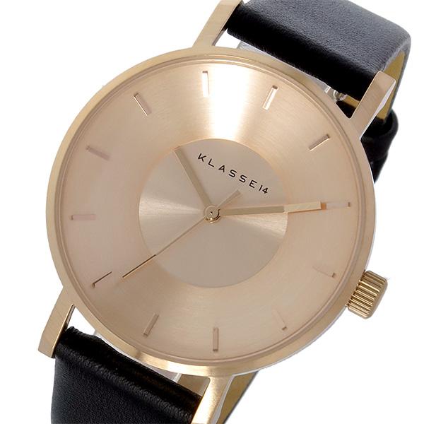 クラス14 KLASSE14 ヴォラーレ Volare 35mm レディース 腕時計 時計 VO14RG001W ローズゴールド/ブラック