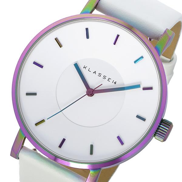 クラス14 KLASSE14 ヴォラーレ Volare レインボー 42mm ユニセックス 腕時計 時計 VO16TI003M ホワイト