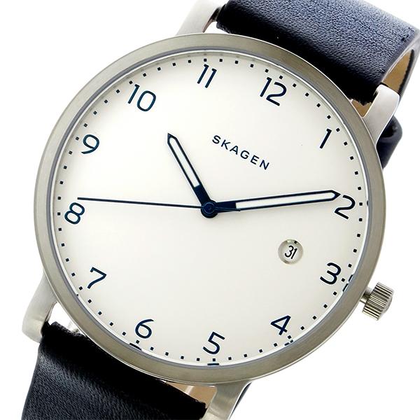 品質検査済 スカーゲン SKAGEN ハーゲン HAGEN クオーツ メンズ 腕時計 時計 SKW6335 ホワイト/ブラック, ナンセイチョウ a4a5c6ce