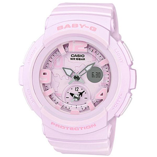 カシオ CASIO ベビーG BABY-G ビーチトラベラーシリーズ レディース 腕時計 時計 BGA-190BC-4B ライトピンク
