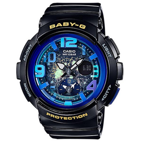 カシオ CASIO ベビーG BABY-G ビーチトラベラーシリーズ レディース 腕時計 時計 BGA-190GL-1B ブラック