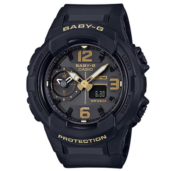 カシオ CASIO ベビーG BABY-G ミリタリースタイル クオーツ レディース 腕時計 時計 BGA-230-1B ブラック