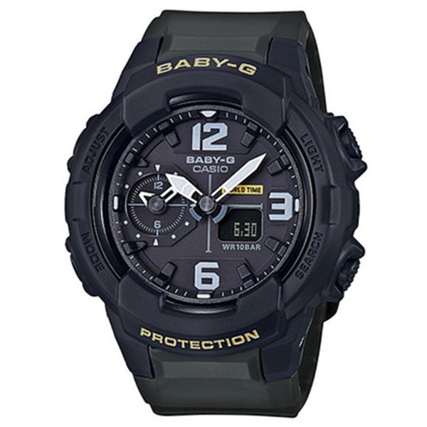 カシオ CASIO ベビーG BABY-G ミリタリースタイル クオーツ レディース 腕時計 時計 BGA-230-3B ブラック