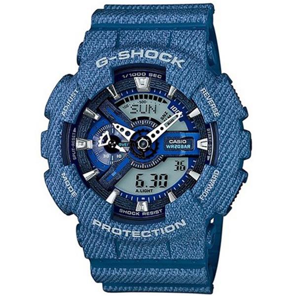 カシオ CASIO Gショック G-SHOCK アナデジ デニムカラー メンズ 腕時計 時計 GA-110DC-2A デニムブルー