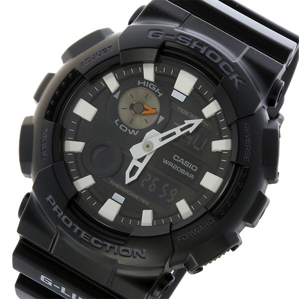 カシオ CASIO Gショック G-SHOCK Gライド G-LIDE クオーツ メンズ 腕時計 時計 GAX-100B-1A ブラック
