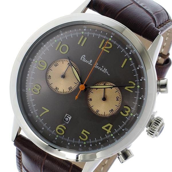 ポールスミス PAUL SMITH プレシジョン クロノ クオーツ メンズ 腕時計 時計 P10013 グレー