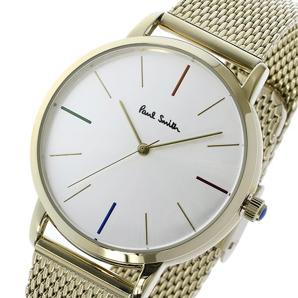 ポールスミス PAUL SMITH エムエー MA クオーツ メンズ 腕時計 時計 P10103 シルバー