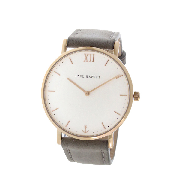ポールヒューイット Sailor Line 39mm ユニセックス 腕時計 時計 6451712 PHSARSTW13S ホワイト/グレー