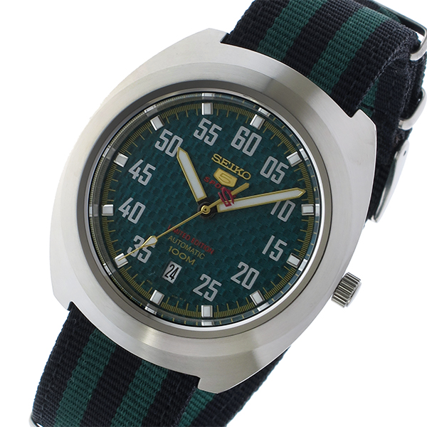 セイコー SEIKO セイコー5 スポーツ 5 SPORTS 自動巻き メンズ 腕時計 時計 SRPA89K1 グリーン/ブラック