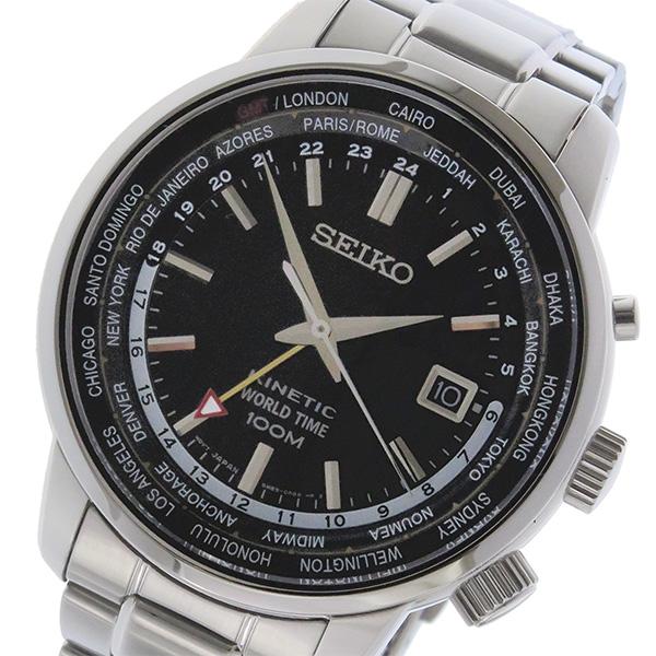 セイコー SEIKO キネティック クオーツ メンズ 腕時計 時計 SUN069P1 ホワイト