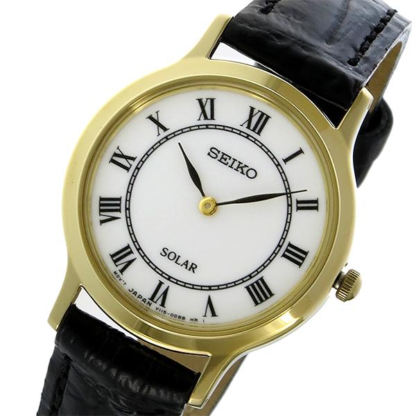 セイコー SEIKO クラシック ソーラー レディース 腕時計 時計 SUP304P1 ホワイト