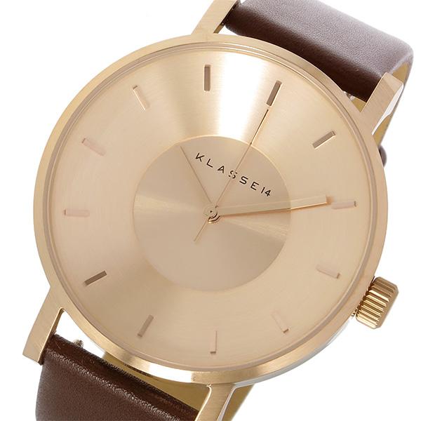 クラス14 KLASSE14 ヴォラーレ Volare 42mm ユニセックス 腕時計 時計 VO14RG002M ローズゴールド/ブラウン