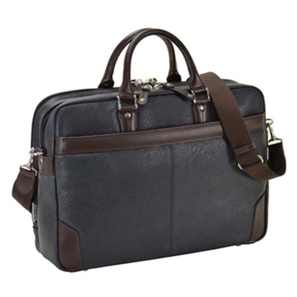 ハミルトン HAMILTON 合皮ビジネスシリーズ メンズ ビジネスバッグ ブリーフケース 26626 ネイビー