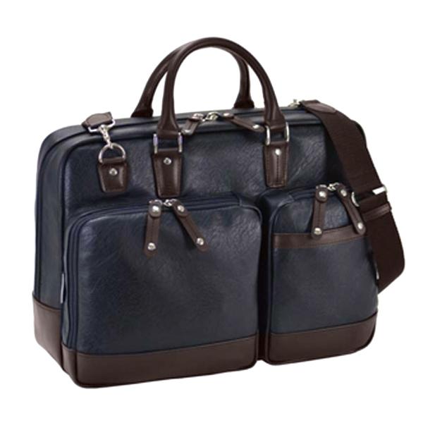 ハミルトン HAMILTON 合皮ビジネスシリーズ メンズ ビジネスバッグ ブリーフケース 26627 ネイビー