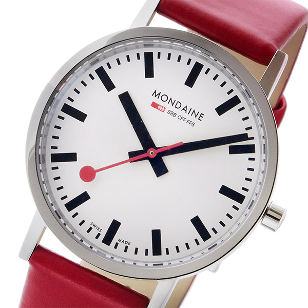 モンディーン MONDAINE クオーツ ユニセックス 腕時計 時計 A660.30314.11SBCS ホワイト