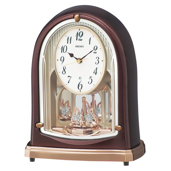 セイコー SEIKO スタンダード 置き時計 BY239B ホワイト